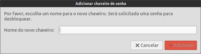 Adicionar Chaveiro